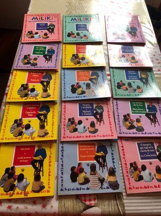 Colección 15 libros Miliki te cuenta cuentos