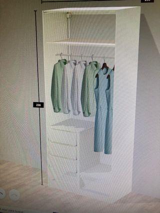 Pax Ikea armario ropero