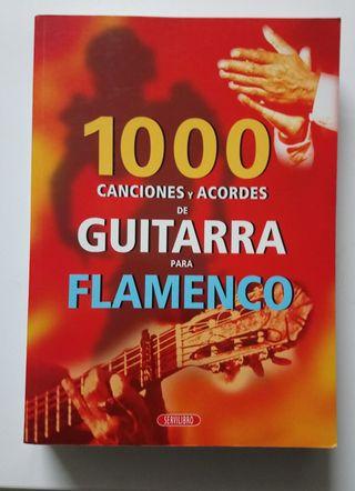 Libro 1000 Canciones y acordes guitarra flamenco