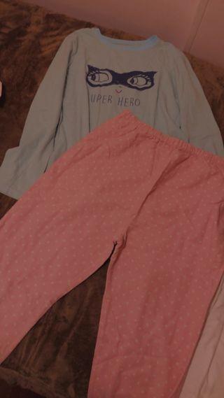 Pijama de dos partes