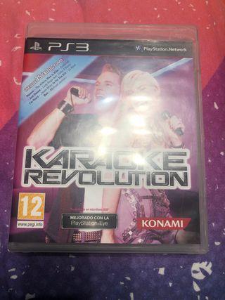 Karaoke revolution ps3