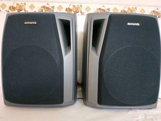 2 altavoces Aiwa SX NS22
