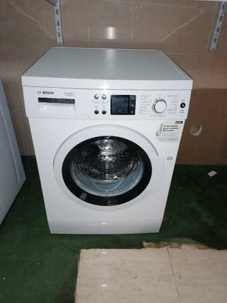 Lavadora Bosch 8 kg silenciosa