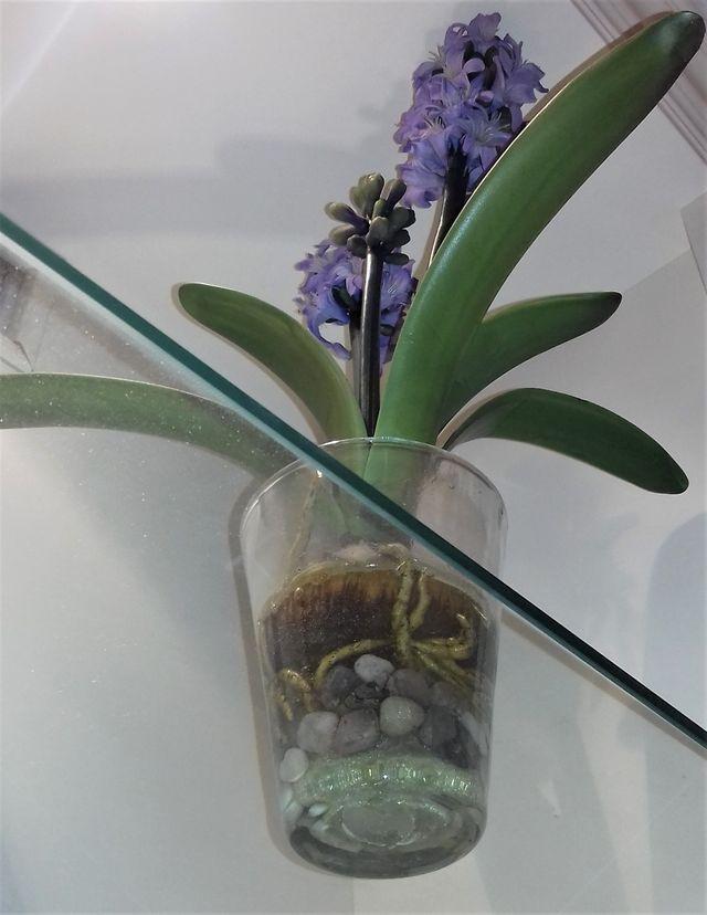 Florero planta artificial