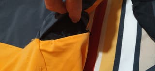 maillot Endura MT 500 Naranja-Amarillo