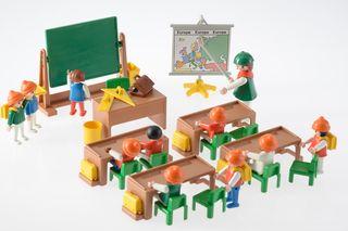 Playmobil ref. 3522 Clase colegio niños 1984