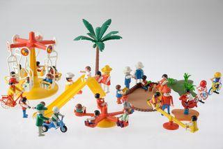 Playmobil ref. 3308, 3416, 3195 Niños vintage