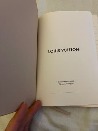 Libreta Louis Vuitton original