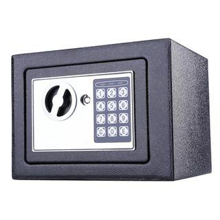 Caja fuerte electrónica digital 6.4L color Negro