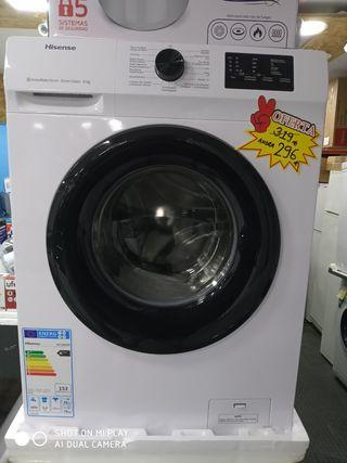 lavadora Hisense A+++ 6KG 2 años de garantía