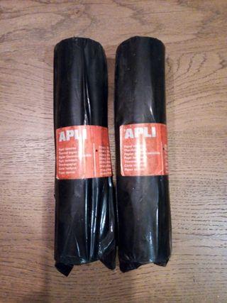 Pack de dos rollos de papel térmico para fax