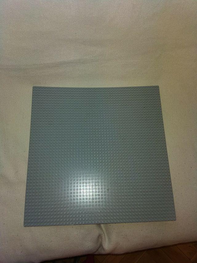 LEGO placa base Lego classic gris