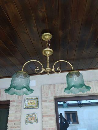 Lámpara estilo billar