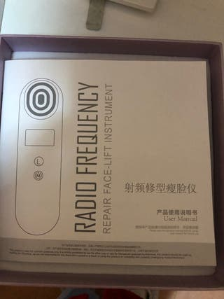 Máquina radiofrecuencia