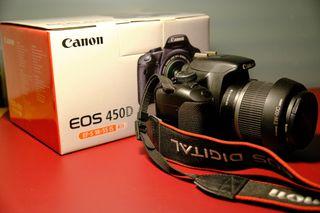 Canon 450D + Canon 18-55 + Tamron 18-200 + YN 50