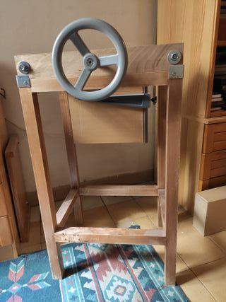 Ingenio completo y prensa de cajos