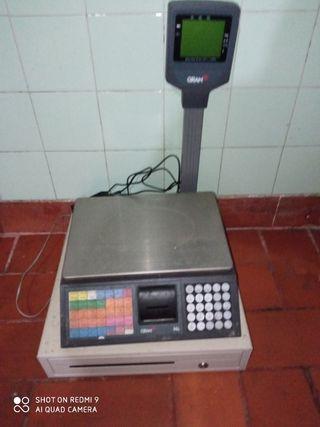 vendo balanza gram con caja registradora