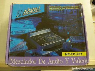 mezclador de audio y video noru-nr-911-207