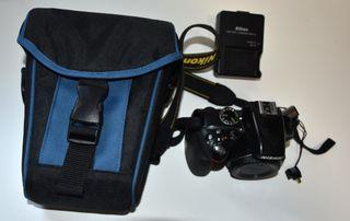 Cámara Reflex Nikon D3300 + wifi + funda