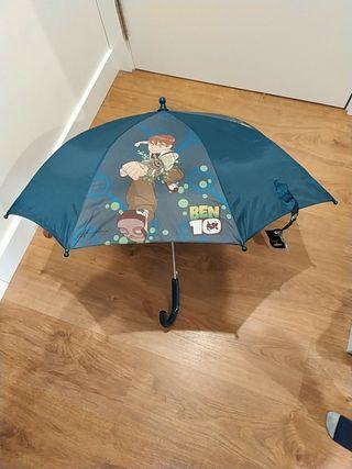 Paraguas niño Ben 10 NUEVO