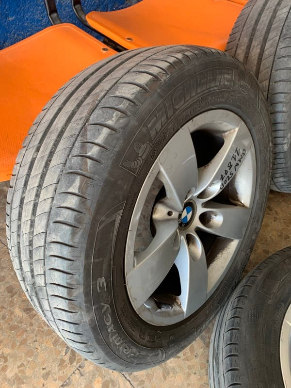 JUEGO LLANTAS BMW 16 PULGADA SERIE 5 Y 7