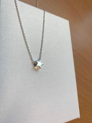 Colgante estrella plata nuevo