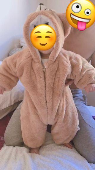 Buzo osito bebé 12 meses