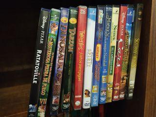 Pack películas infantiles. Disney y Pixar