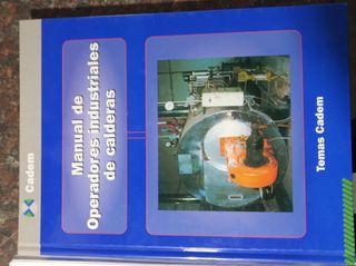 libros/manual operador industrial calderas