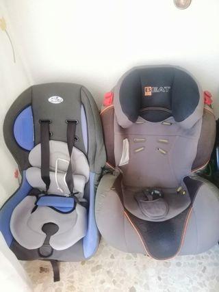 Sillas de coche para niños.
