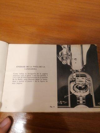 Manual instrucciones Máquina Coser Alfa