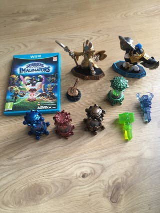 Skylanders superchargers y Imaginators