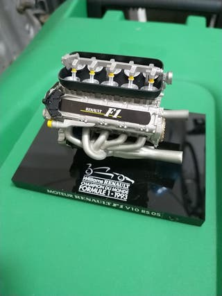 Replica Escala Motor Williams Renault F1 1993