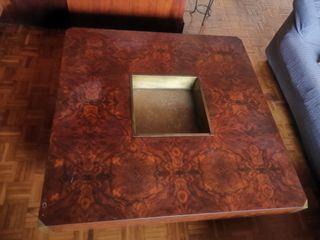 mesa de palma de caoba