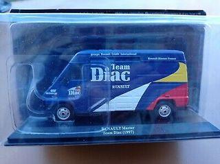 Maqueta Asistencia Renault Diac Rallye 1/43