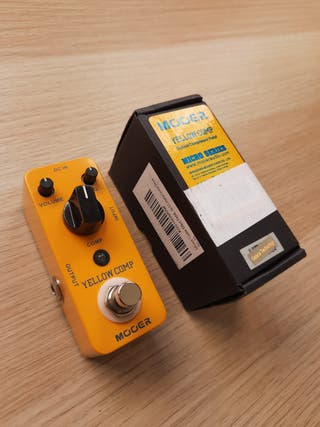 Mooer Yellow Comp pedal guitarra compresion