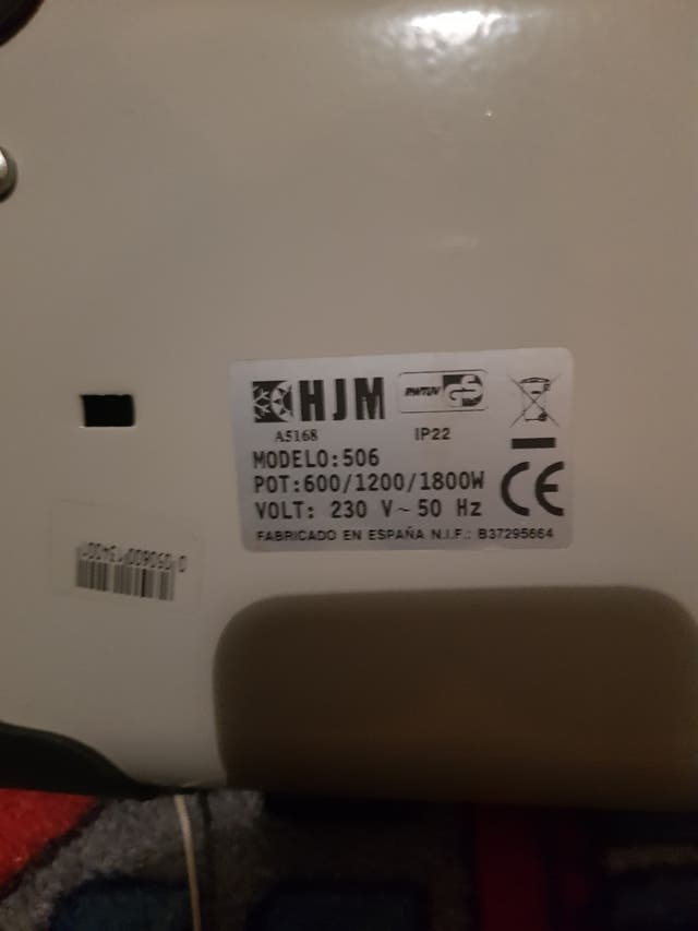 radiador infrarrojos de aluminio hjm