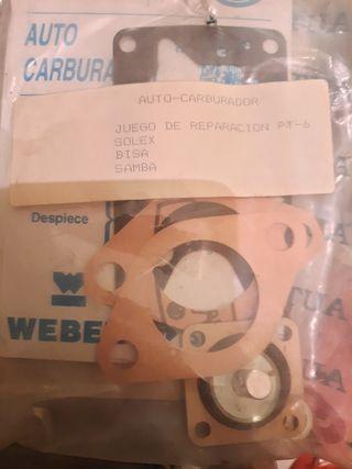 juego reparación carburador talbot samba