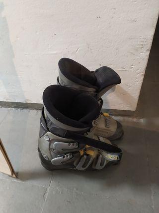 Esquis y botas