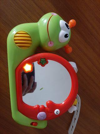 caracol proyector bebé