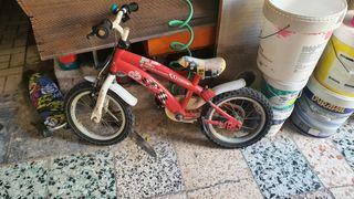 bici de cars para niño