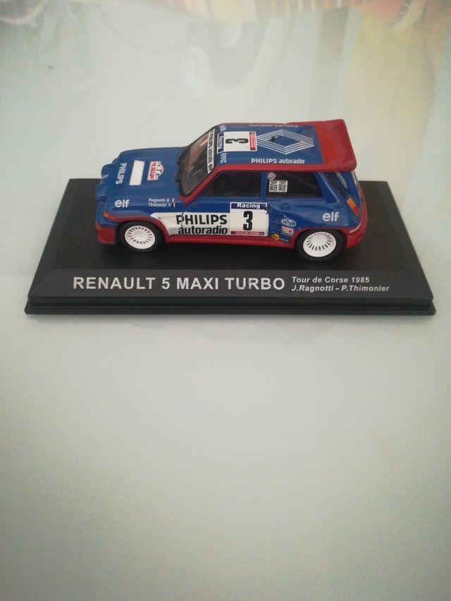 Renault 5 maxi turbo maqueta