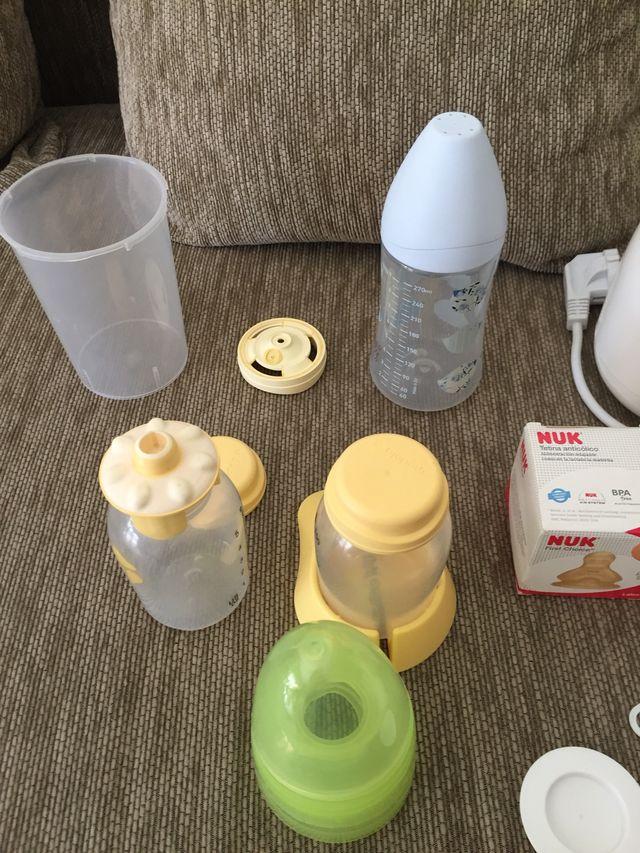 Calienta biberones SARO + otros productos