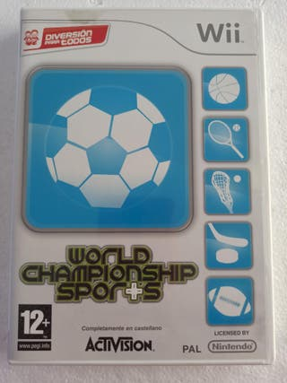 Juego World Championship Sports para Nintendo Wii