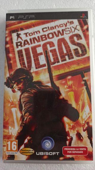 Rainbow Six Vegas Tom Clancy's para PSP
