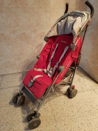 silla de paseo Maclaren Quest roja