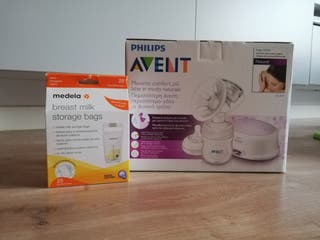 Sacaleches eléctrico Philips Avent NUEVO + regalo