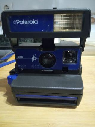 cámara de fotos Polaroid 636