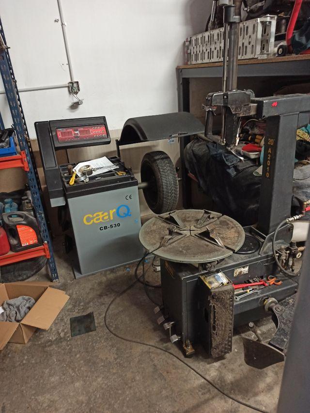 Montaje ruedas de moto/coche