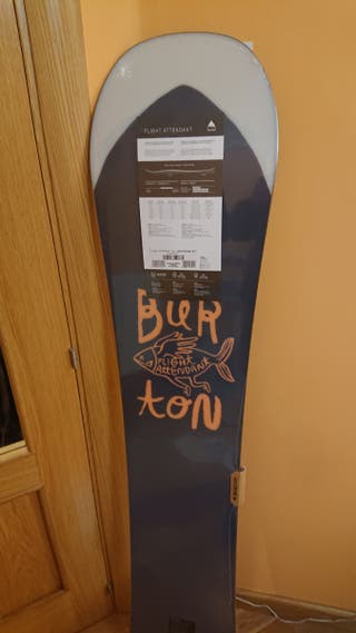 tabla snow NUEVA burton flight attendant 162
